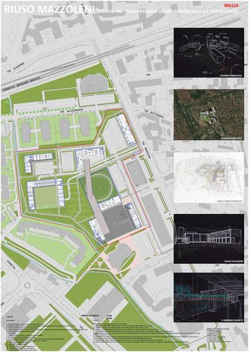 Ettore Curto — Masterplan di riconversione area industriale