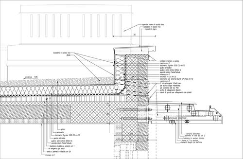 Divisare projects latest updates for Sezione tetto giardino