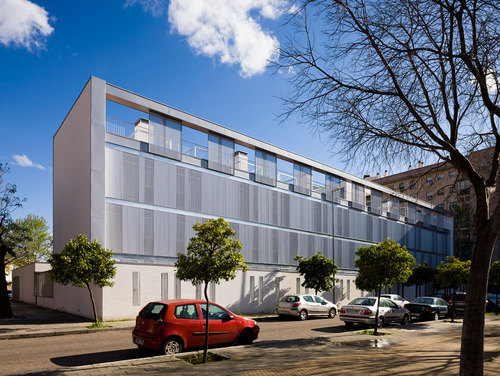 Juan Pedro Donaire Arquitectos, ssw arquitectos — Residence Hall  for the University in Seville