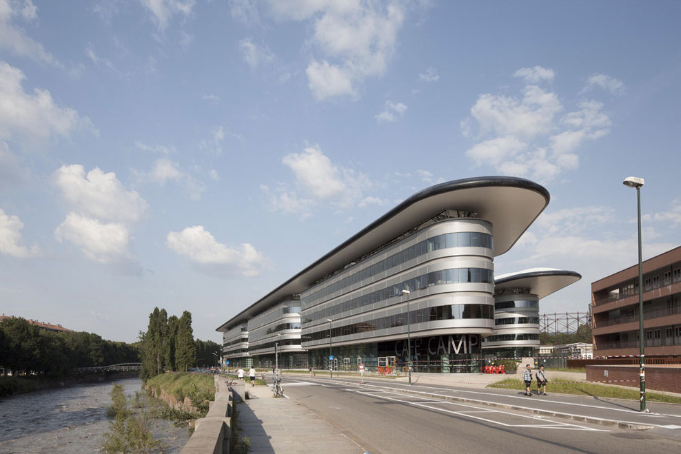 Foster + Partners, Maire Tecnimont � Campus Luigi Einaudi � Image ...