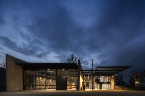 Alvisi Kirimoto + Partners — Bulgari Winery in Southern Tuscany