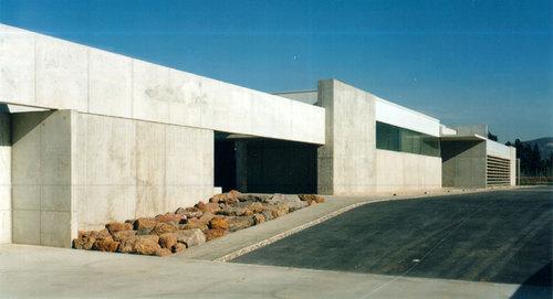 CHS arquitectos — Edificio Ecocarburantes Españoles en Escombreras, Murcia