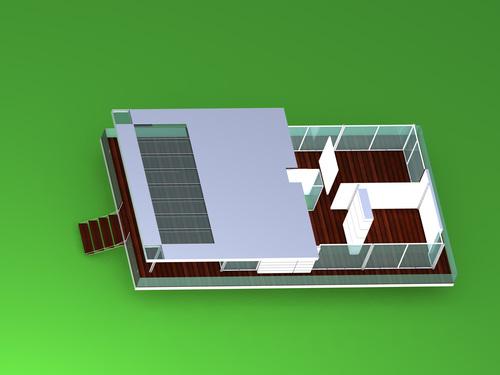 Luigi Ferrario — La casa in alluminio