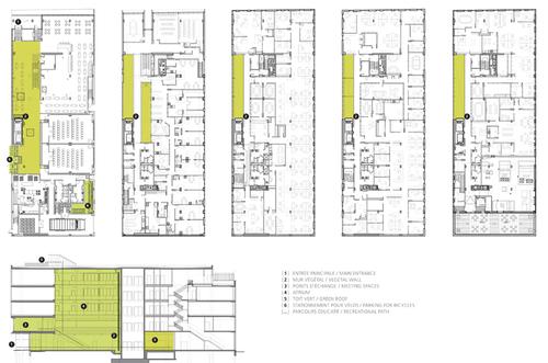 Menk s shooner dagenais letourneux architectes maison du d veloppement durable - Maison du developpement durable ...
