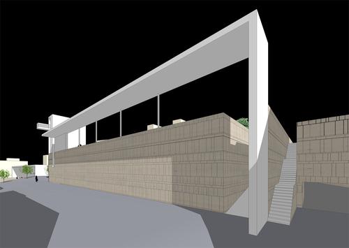 Raimondo Guidacci — progetto di risistemazione di piazza Aldo Moro e piazza Enrico Berlinguer a Putignano