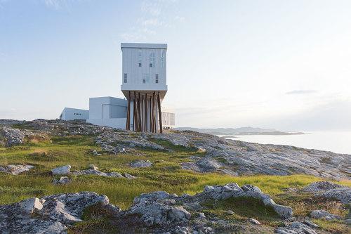 Saunders Architecture — Fogo Island Inn