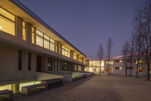 Gerardo Valle P. Arquitecto — Lower Prep Quad Grange School