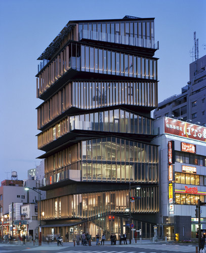 Kengo Kuma & Associates — Asakusa Culture and Tourism Center