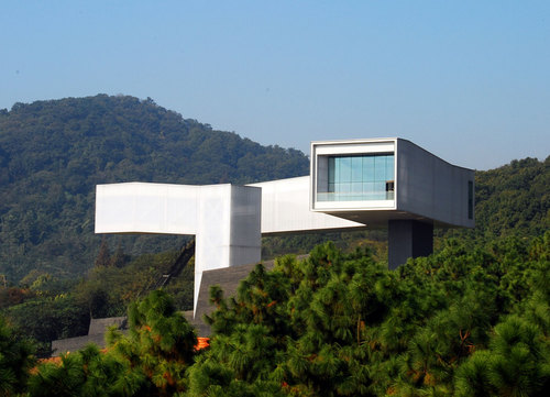 Steven Holl Architects, Architectural Design Institute, Nanjing University — Nanjing Sifang Art Museum