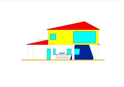 roberto vantaggi casa unifamiliare a due piani ordine