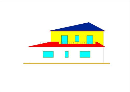 Roberto vantaggi casa unifamiliare a due piani ordine for Piani della casa del sud