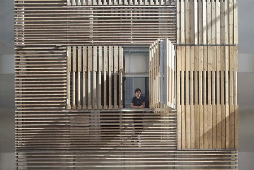 mateo arquitectura — Luxury apartment building on Passatge Marimon