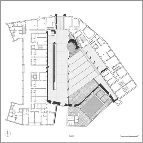 Angelo Torricelli — Sala consiliare e piazza a Cesano Boscone