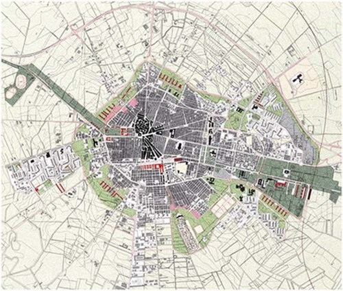 Angelo Torricelli — Progetto urbano per il nuovo Prg di Cerignola