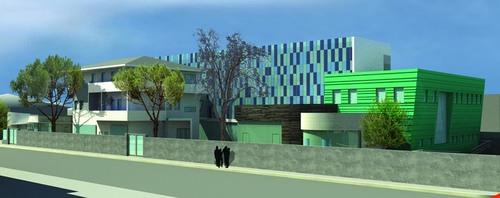 Architetto franco feliciani progetto di una casa di - Progetto casa pescara ...