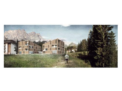 LARA - Andrea Ravagnani Architecture Lab, ULTRA Architettura, Emilia Rosmini, Andrea Ravagnani, David Vecchi, Michela Romano — Senior City Cortina D'Ampezzo