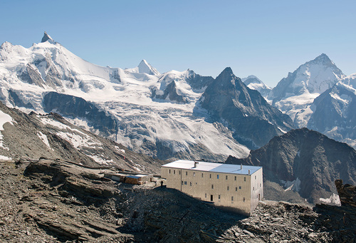 savioz fabrizzi architectes — New Tracuit Mountain Hut