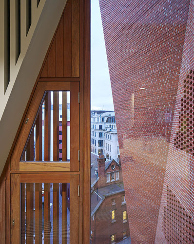 O'Donnell + Tuomey Architects — Saw Swee Hock Student Centre, London School of Economics