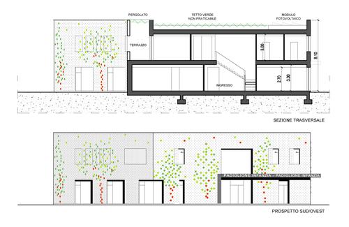 Riccardo bosoni silvia cirabolini nuovo padiglione for Sezione tetto giardino