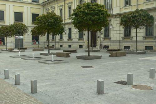 Luisella Premoli — Riqualificazione Piazze E Percorsi Del Centro Storico Di Novara-ambito 1-cavour