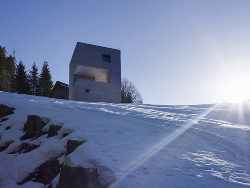 Marte.Marte Architekten — Mountain cabin in Laternser valley