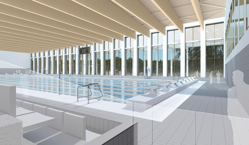 Lifschutz Davidson Sandilands University Of Birmingham Indoor Sports Centre Divisare By