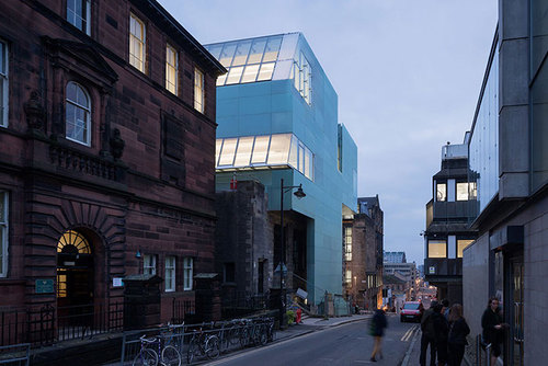 Steven Holl Architects — Seona Reid Building, Glasgow School of Art