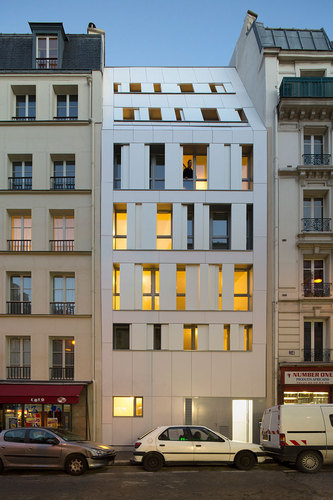MAAST Architectes — Residence Poissonniers, Paris 18e