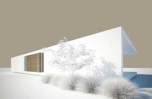 Roberto nicoletti architettura e design casa ad un piano for Design frontale della casa a un piano