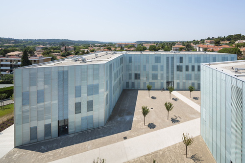 Dietmar Feichtinger Architectes — University Aix-en-Provence - extension of the faculty for Human sciences