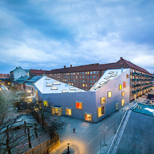 Dorte Mandrup Arkitekter — Children's culture house ama'r
