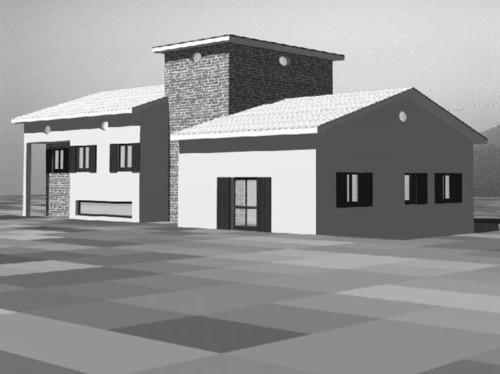 Antonio gambardella progetto di una casa di campagna - Casali di campagna ...