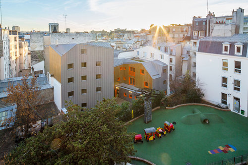 VOUS ETES ICI Architectes — LOGEMENTS SOCIAUX PARIS