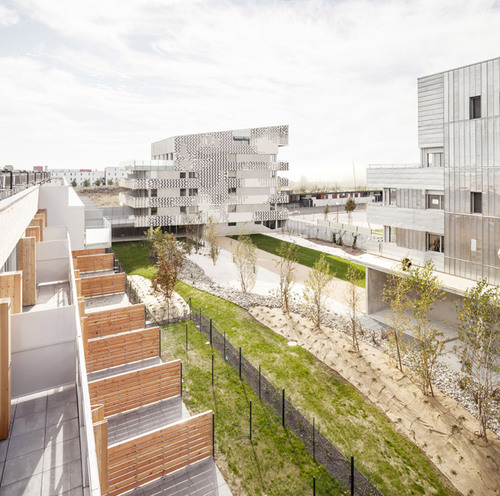 mateo arquitectura — Dwellings in Toulouse