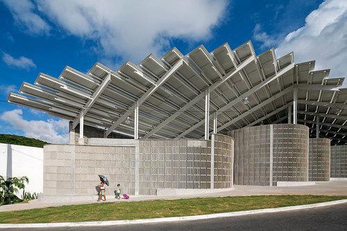 Herzog & de Meuron — Arena do Morro gymnasium