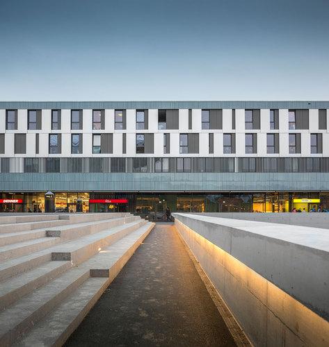Richter Dahl Rocha & Associés architectes — EPFL Quartier Nord, Student Housing, Ecublens