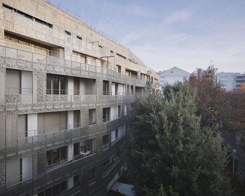 Babled Nouvet Reynaud Architectes — Résidence étudiante et logements familiaux