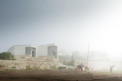 Graça Vaz Architecture, Raul Sousa Cardoso — Mortuary house in Vila Caiz