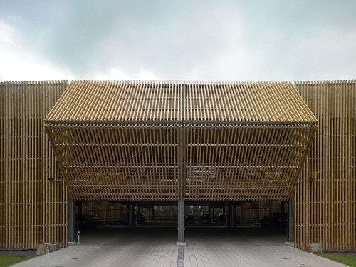 Birk Heilmeyer und Frenzel Architekten — Parkpalette in Coesfeld-Lette