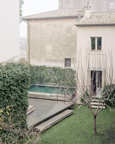 Massimo Adario Architetto — a pool in a private garden