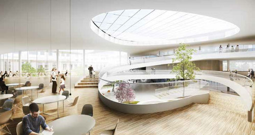 BIG - Bjarke Ingels Group, Whr Architects, Arup — New North Zealand Hospital