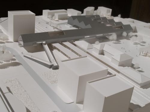 Plastico | Luca Piazza architetto | plasticista — Stazione e ponte pedonale