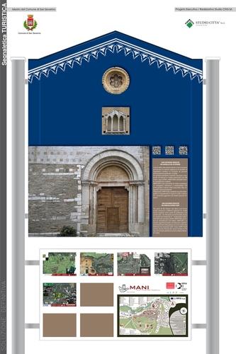 Andrea Pancalletti — Progetto di portali interattivi per segnaletica turistica del Comune di San Severino Marche