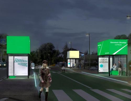 Roland Baldi — Concorso corporate design Metrobus Oltradige express