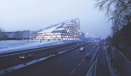 BIG - Bjarke Ingels Group — Solkilen