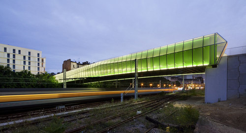 Jacques Ferrier Architectures — New Bridge in Choisy-le-Roi
