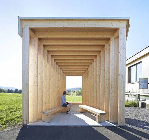 Amateur Architecture Studio — BUS:STOP Krumbach
