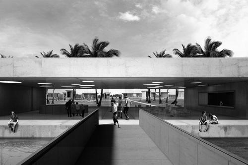 """[A+M]² Architects, Alessandra Rampazzo, Marcello Galiotto — """"Laguna Landscape"""". Riqualificazione dell'isola del Buon Castello a Sottomarina"""