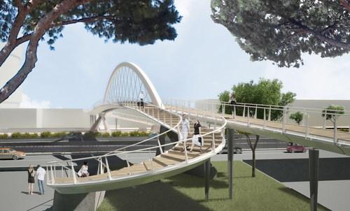 Insula Architettura e Ingegneria S.r.l., Atelye70 (Dogu KAPTAN) — Passerella pedonale a Denizli