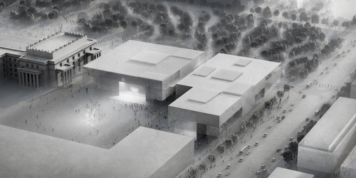 WXCA — WXCA proposal for The Museum of Modern Art in Warsaw and TR Warszawa theatre.